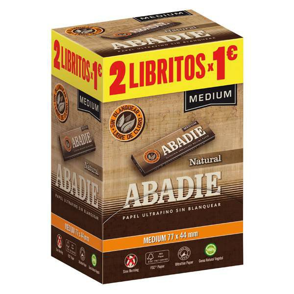 EXP. 2X1 ABADIE NATURAL MEDIUM 1X200