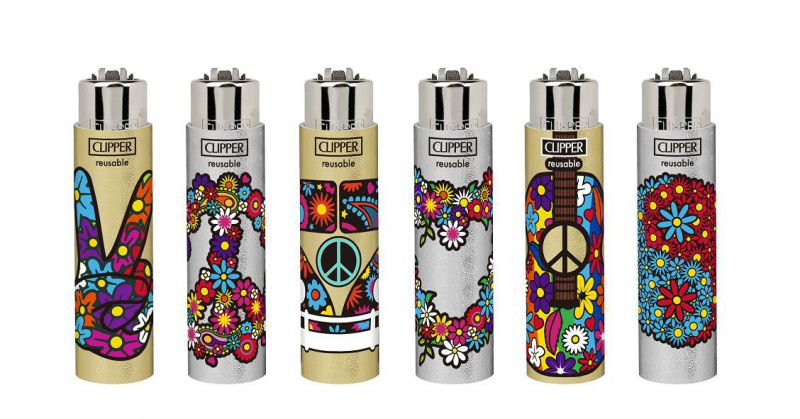 BANDEJA 30 CLIPPER FUNDA GOMA HIPPIE ELEMENTS