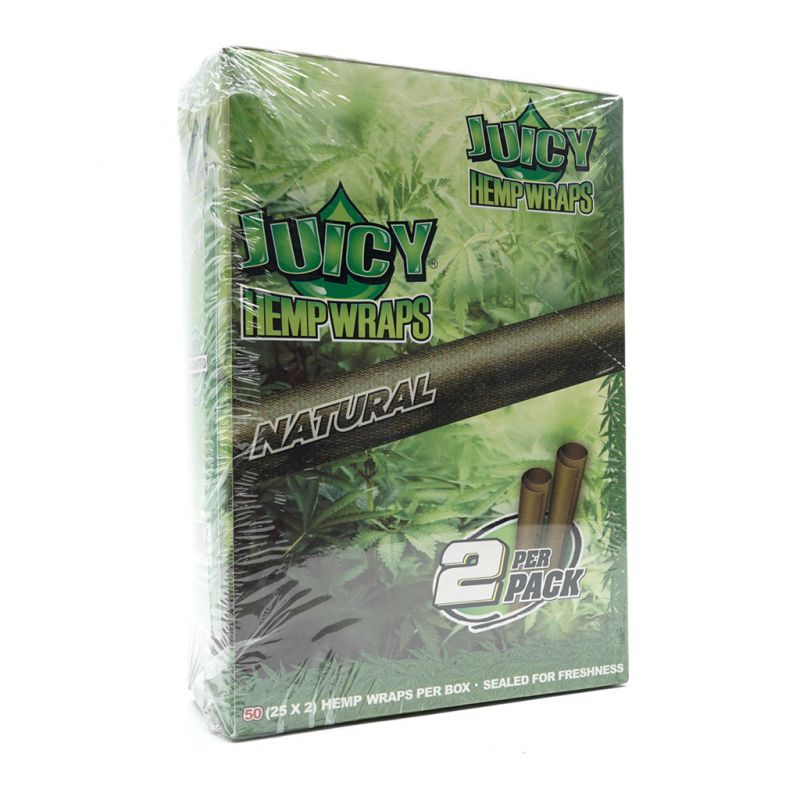 JUICY HEMP WRAPS ORIGINAL 2 BLUNTS 1 X 25