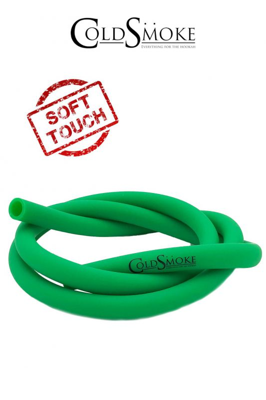 manguera silicona soft touch verde 150cm