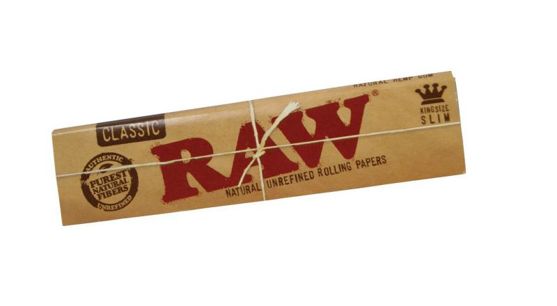 PAPEL DE FUMAR RAW KING SIZE SLIM - 1x50