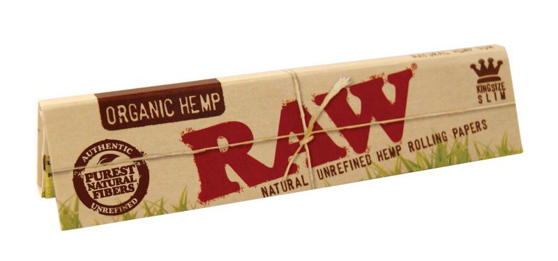 PAPEL DE FUMAR RAW KING SLIM ORGÁNICO 1x50