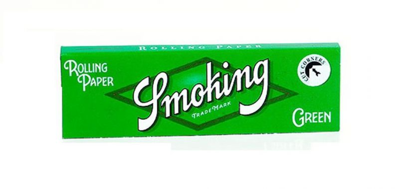 PAPEL DE FUMAR SMOKING GREEN 70 - 1x50