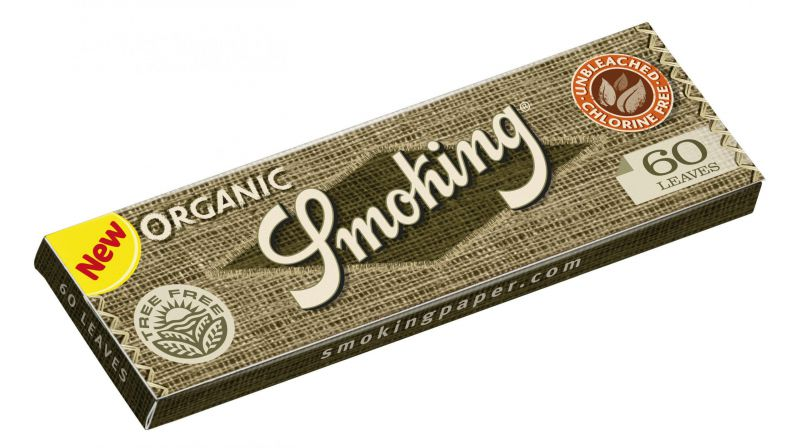 PAPEL DE FUMAR SMOKING ORGANIC 70 - 1x50