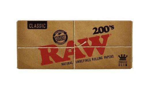 PAPEL RAW 200 BLOC SLIM 1 X 40