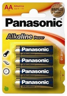 pilas panasonic alk power bronze lr06  aa (bliste