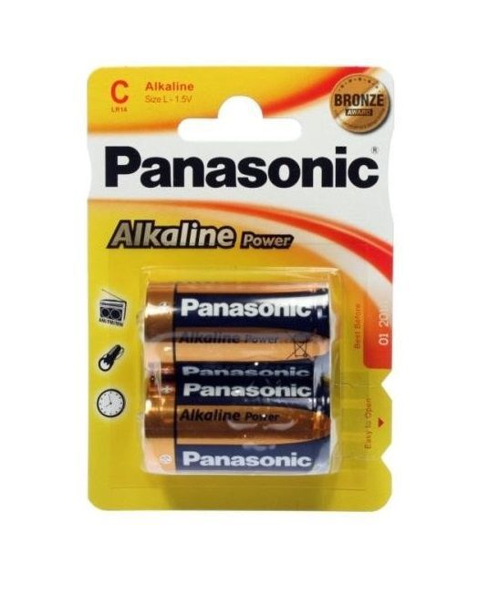 pilas panasonic alk power bronze lro14-c 2x12