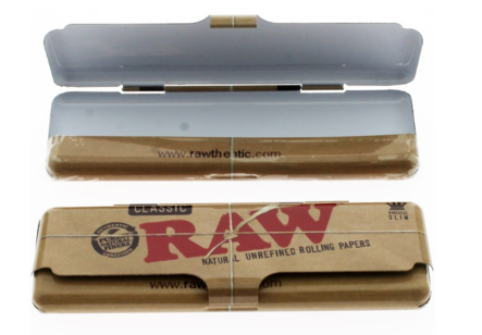RAW CASE TIN KING SIZE  1X 12