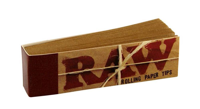 raw paper tips 1 x 50
