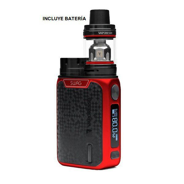 vaporesso swag kit 2 ml red