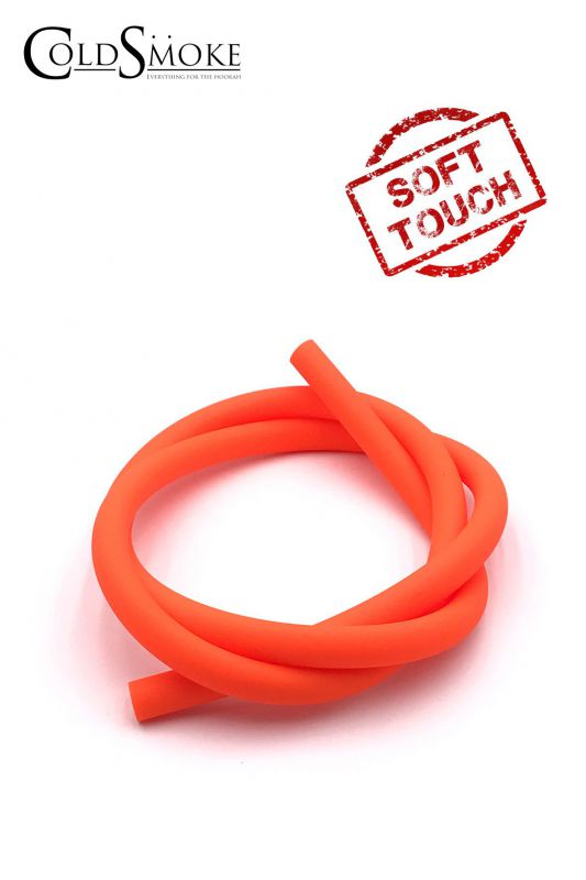 mangueras silicona soft touch orange fluor