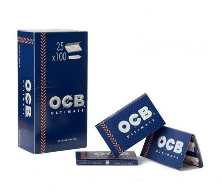 PAPEL DE FUMAR OCB ULTIMATE DOBLE VENTANA 1X25