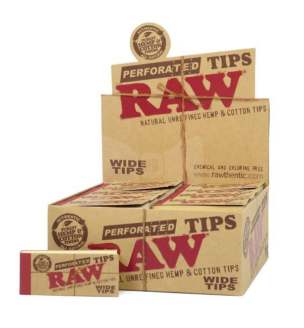 RAW TIPS WIDE 24 X 55 MM (1 X 50)