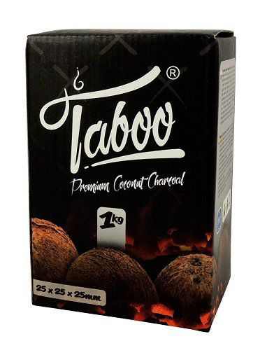 5 ESTUCHES CARBON NATURAL COCO TABOO 1KG