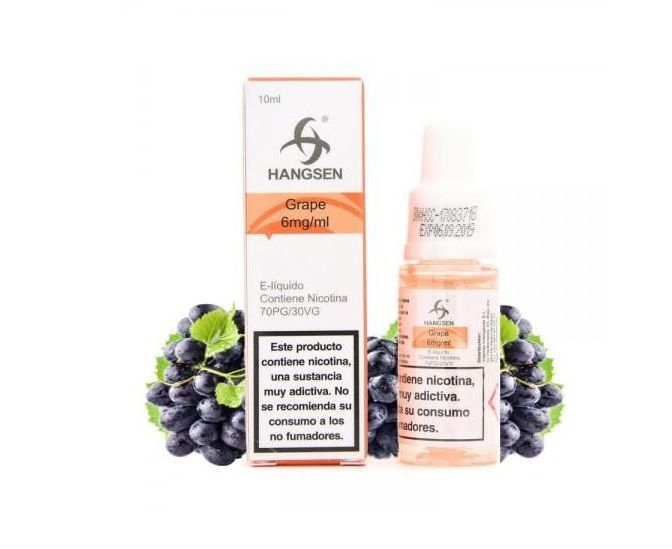 hangsen grape 12mg - 10ml