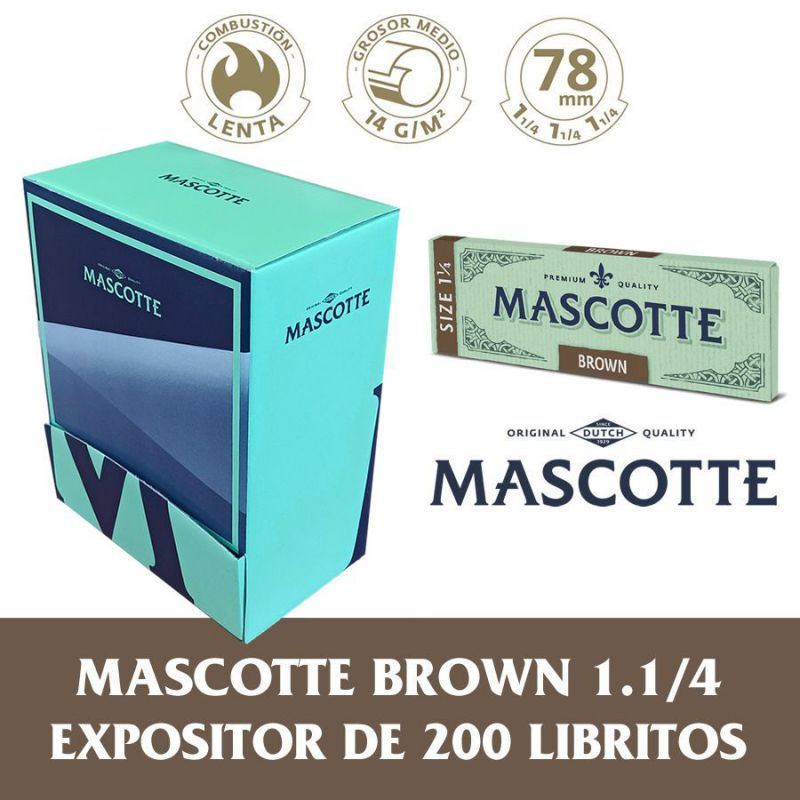 exp.mascotte brown 1.1/4 (1 x 200)