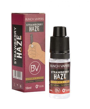liquido bunch vapers strawberry haze 10 ml