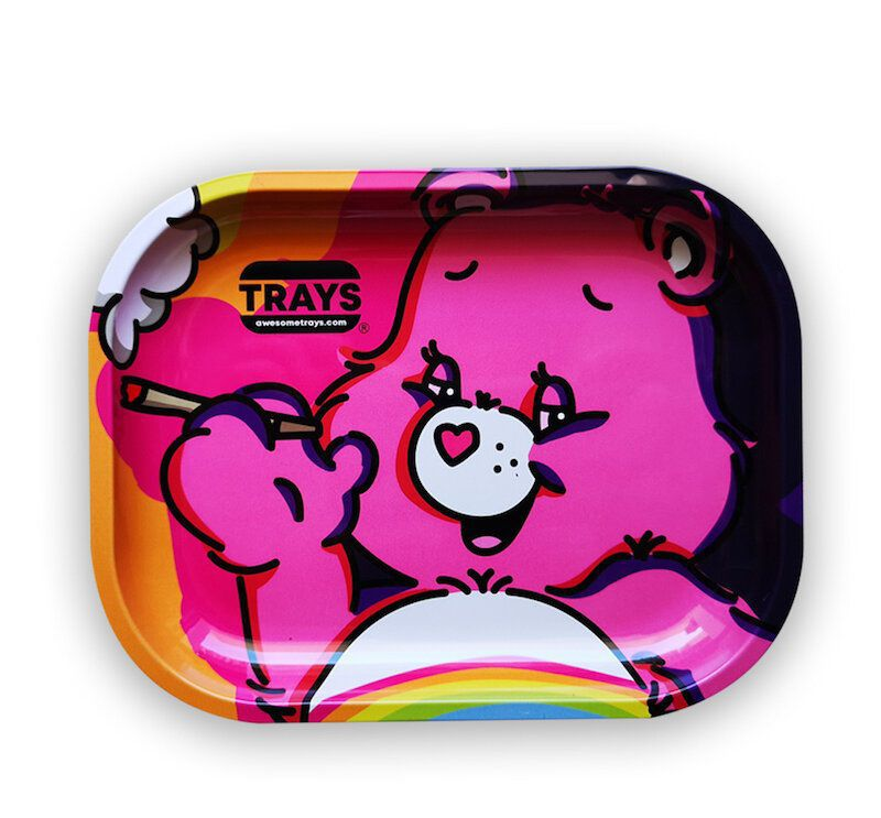 BANDEJA METAL CARE BEAR 18 X 14