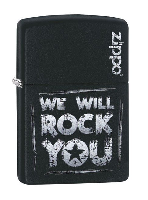 zippo we will rock you