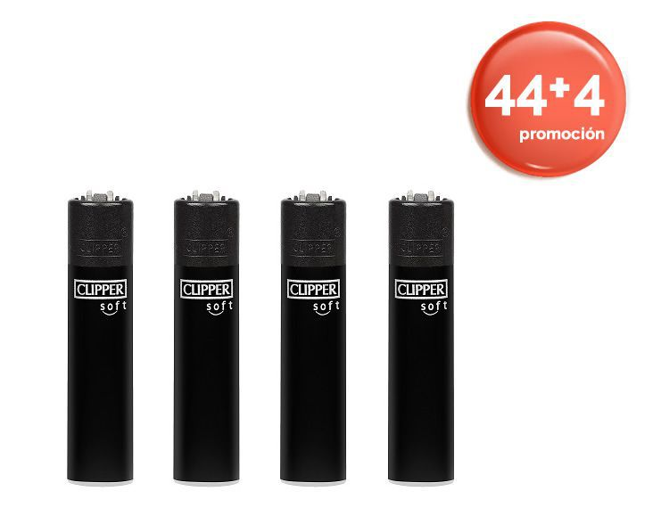 bandeja 44+4 clipper soft touch all black