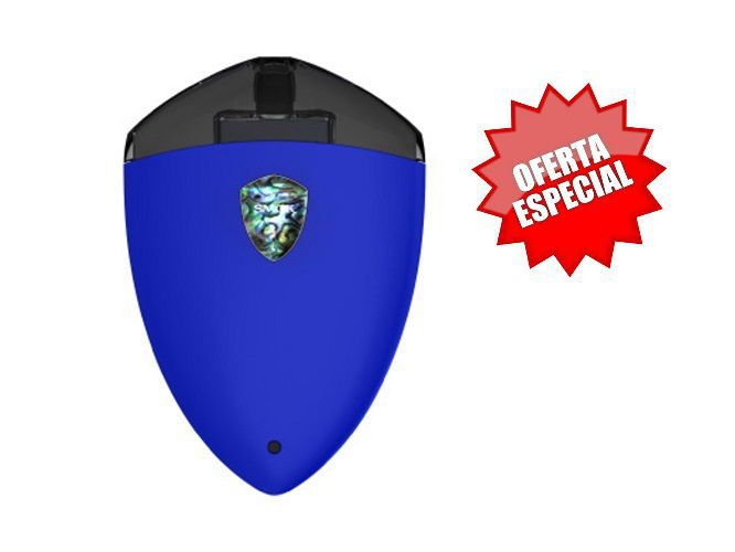 cigar. electronico smok rolo badge azul brillo