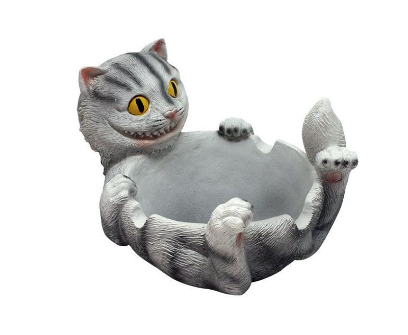 cenicero happy cat ashtray