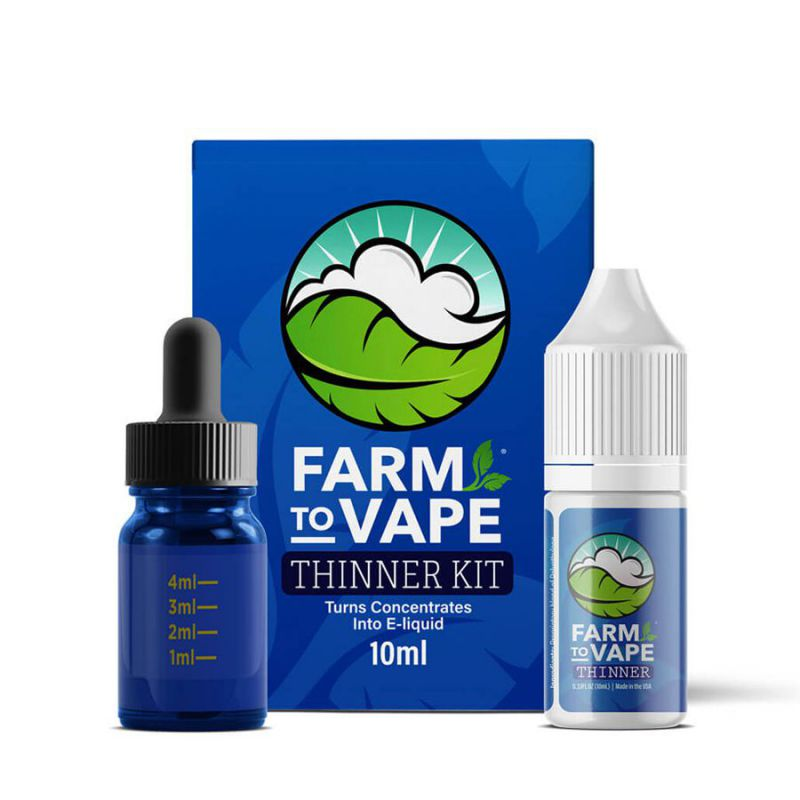 farm to vape diluyente natural (thinner)  kit 10ml