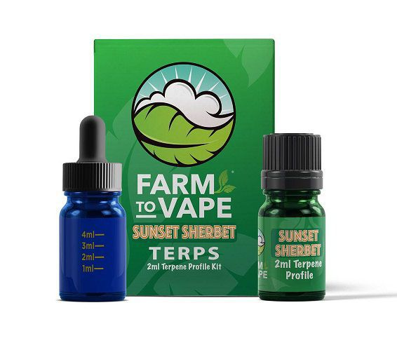 FARM TO VAPE TERPENOS SUNSET SERBER 2ML