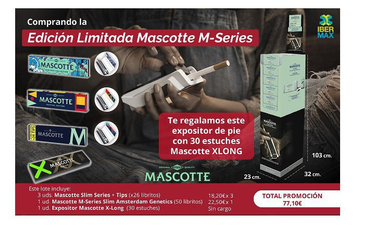 edicion limitada display mascotte
