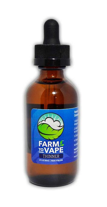 farm to vape diluyente natural (thinner) 60 ml