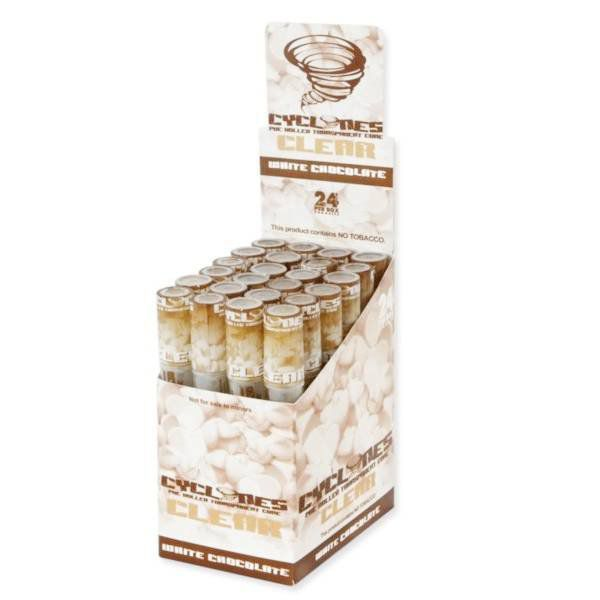 cyclones juicy clear chocolate blanco 1 x 24