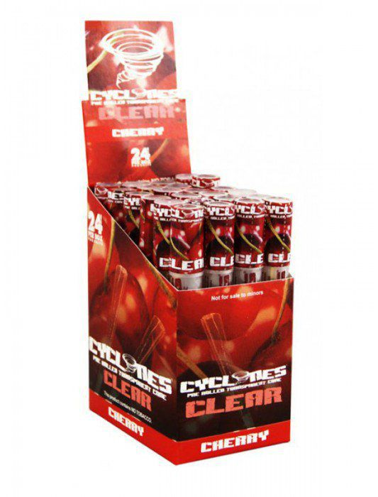 CYCLONES JUICY JAY CLEAR CEREZA 1 X 24