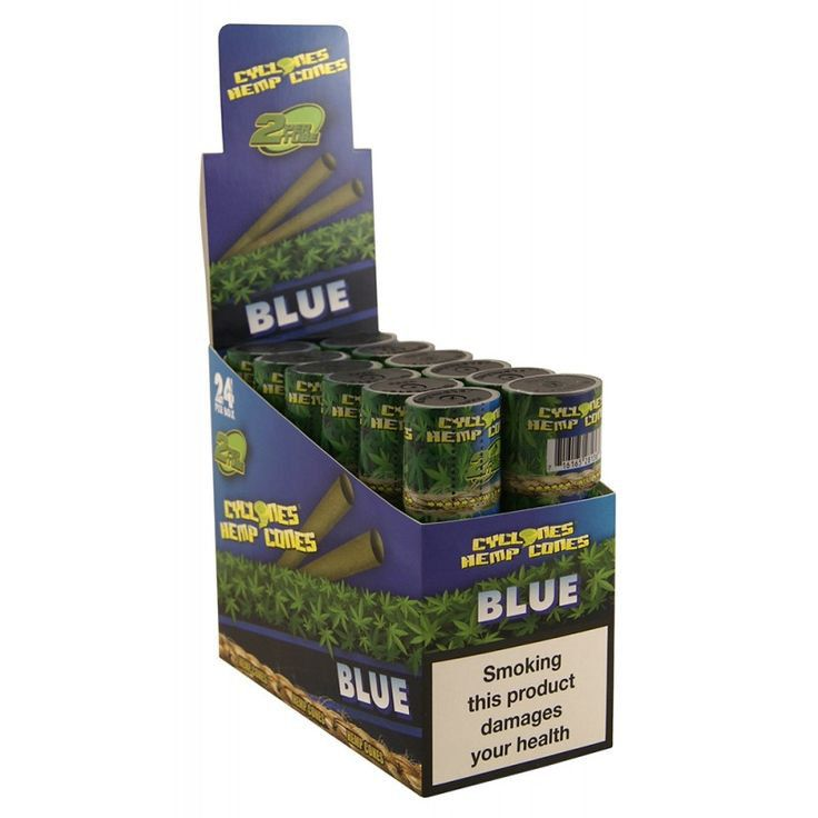 CYCLONES JUICY JAY HEMP BLUE (ARANDANOS) 12 X 2