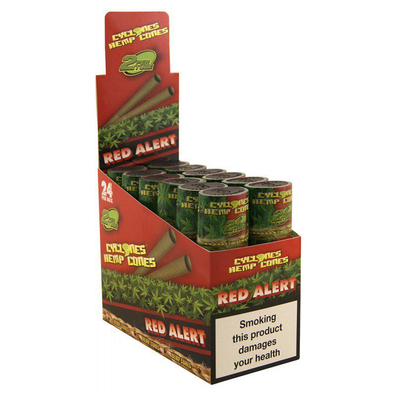 CYCLONES JUICY JAY HEMP RED ALERT (FRESA) 12 X 2